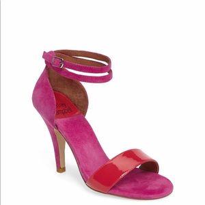 Jeffrey Campbell Kristy Ankle Strap Sandal NWOB
